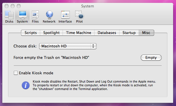 how to empty trash on mac that won t delete